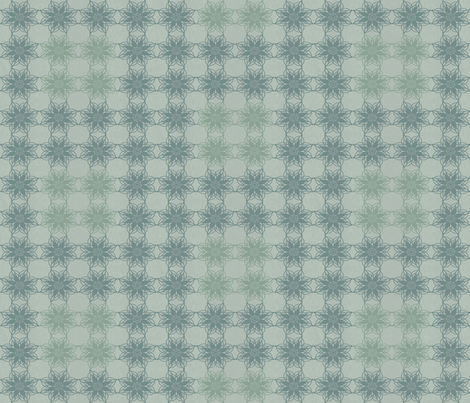 Vintage Floral - Mist fabric by kristopherk on Spoonflower - custom fabric