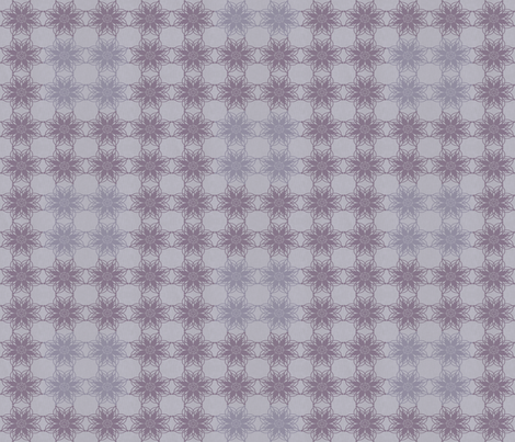 Vintage Floral - Mauve fabric by kristopherk on Spoonflower - custom fabric