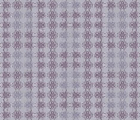 Vintage Floral - Mauve fabric by kristopherk on Spoonflower - custom fabric
