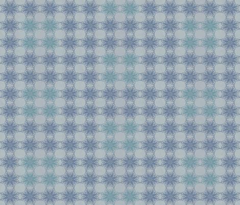 Vintage Floral - Denim fabric by kristopherk on Spoonflower - custom fabric