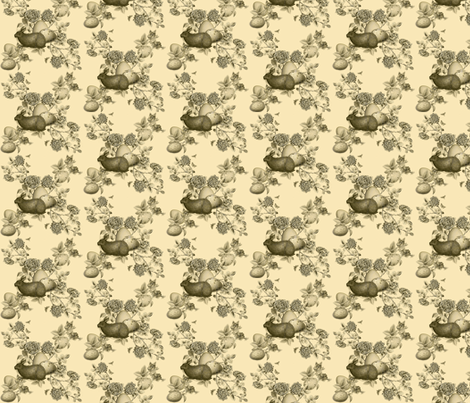 Easter Bunny Toile fabric by dentednj on Spoonflower - custom fabric