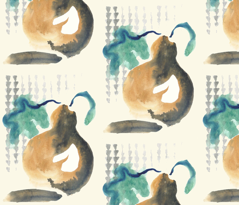 Hawaiian Ipu fabric by leilehua on Spoonflower - custom fabric