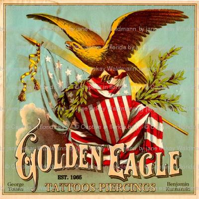 Golden Eagle Tattoos