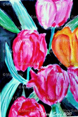 Bird Tulip