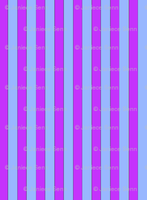 Magenta and light blue stripes