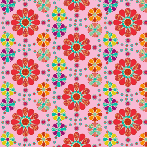 lovely_flowers-ch fabric by snork on Spoonflower - custom fabric