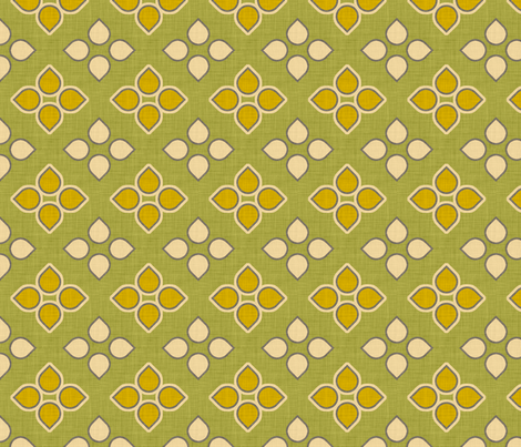 mosaic sun fabric by holli_zollinger on Spoonflower - custom fabric