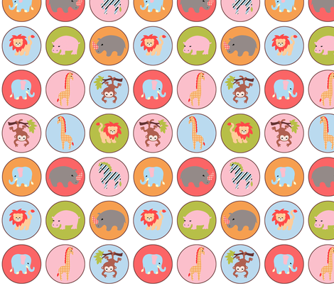 safari dots fabric by mytinystar on Spoonflower - custom fabric