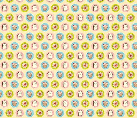 Tea Time fabric by marcelinesmith on Spoonflower - custom fabric
