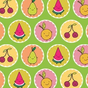 Cutie Fruity Friends