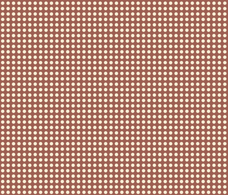 chocolate polka dots fabric by mytinystar on Spoonflower - custom fabric
