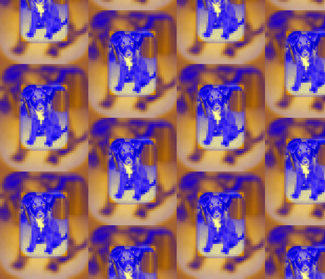 Blue Dogs fabric by alpaca_lady on Spoonflower - custom fabric
