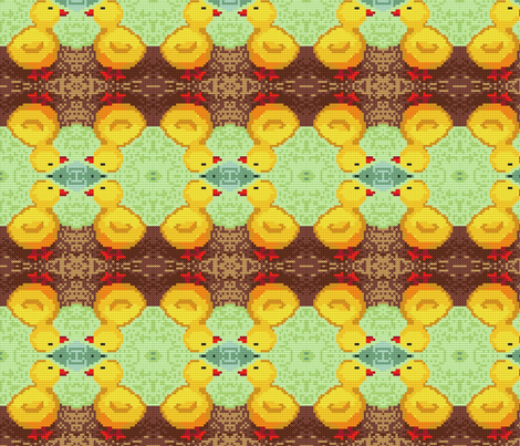 Just Duckied fabric by weedesigns on Spoonflower - custom fabric