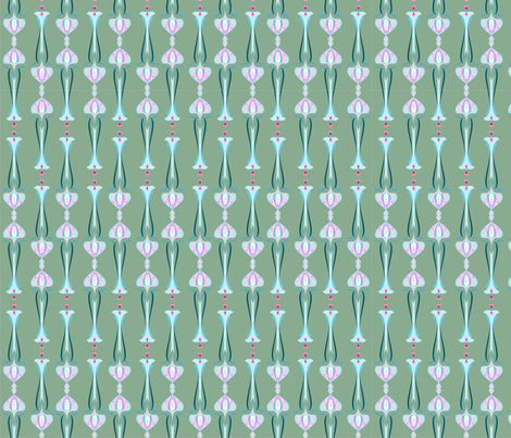 jugendstil5 fabric by vina on Spoonflower - custom fabric