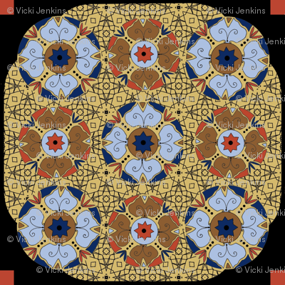 Art_Nouveau Tile