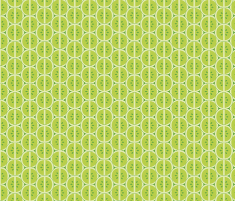 Lime Slices fabric by pancakes_for_dinner on Spoonflower - custom fabric
