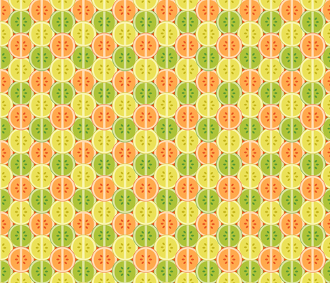 Citrus fabric by pancakes_for_dinner on Spoonflower - custom fabric