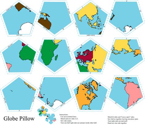 globe pillow