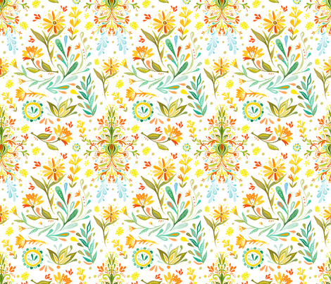 Going to Montana fabric by katie_daisy on Spoonflower - custom fabric