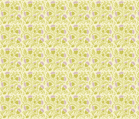thistle fabric by cindy_lindgren on Spoonflower - custom fabric