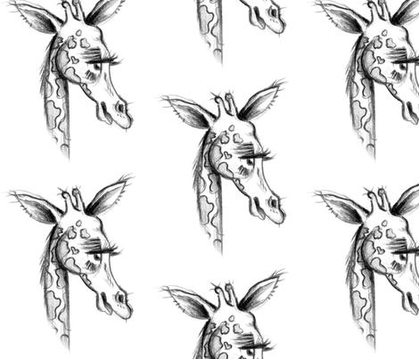 Giraffe fabric by taraput on Spoonflower - custom fabric