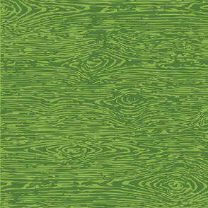 FauxBois: Green on Green