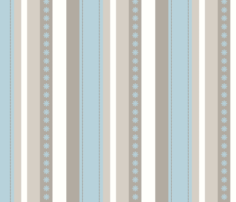 Turquoise Daze-Stripes fabric by crystalgillis on Spoonflower - custom fabric