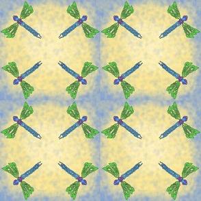Celtic dragonflies tile