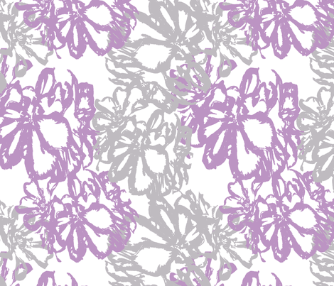 Geraniums fabric by cksstudio80 on Spoonflower - custom fabric