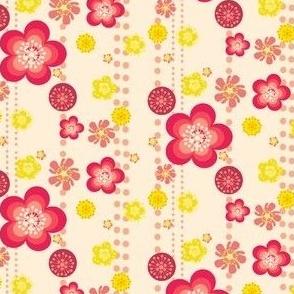 Retro Floral Fun! - © PinkSodaPop 4ComputerHeaven.com