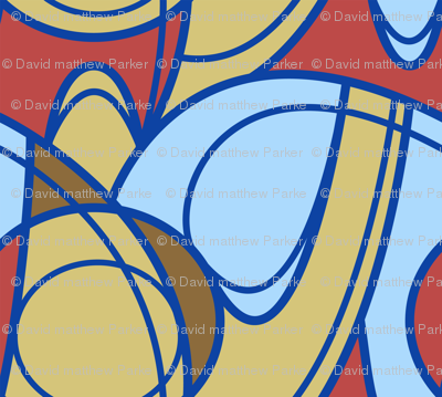 Nouveau Glyph Pattern