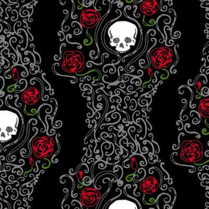Where the Wild Roses Grow (Black)