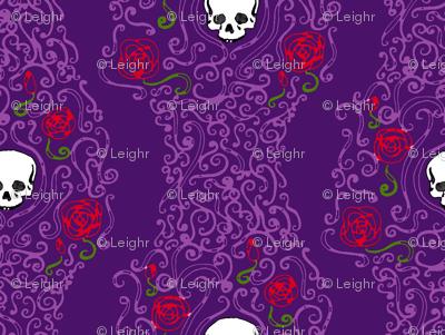 Where the Wild Roses Grow (Dark Purple)