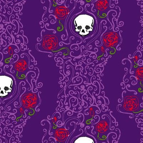 Where the Wild Roses Grow (Dark Purple)