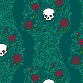 Where the Wild Roses Grow (Dark Green)