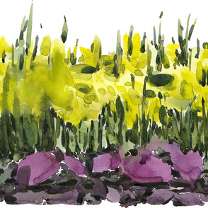 "C'EST LA VIVâ""¢ Garden Lark Collection_Running Daffodils"