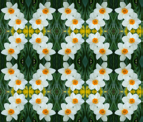 crop_1g_daffodils fabric by khowardquilts on Spoonflower - custom fabric