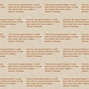 Freedom Harriet Tubman Quote-Maroon-163