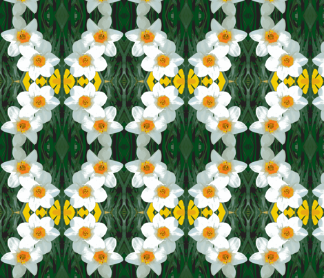 edit_4_daffodils-ch-ch-ch fabric by khowardquilts on Spoonflower - custom fabric
