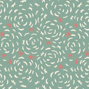 birds print Mint