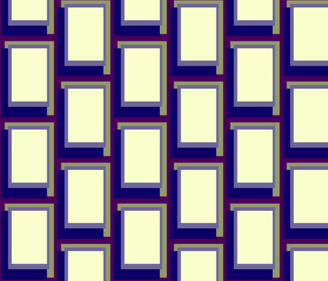 Golden Ratio - Grape Olive Blocks fabric by jazilla on Spoonflower - custom fabric