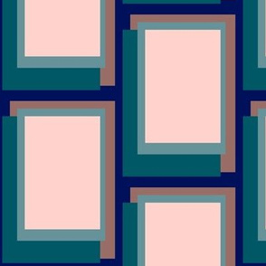 Golden Ratio - Teal Blush Blocks