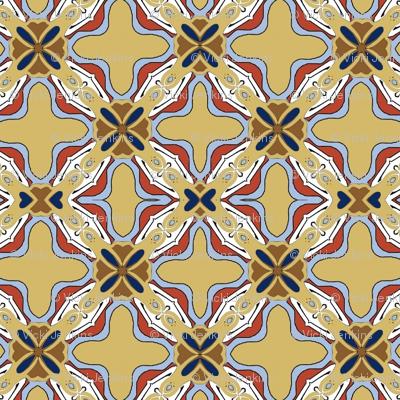 Art Nouveau Tile 1