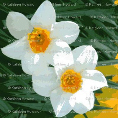 Daffodil Garland D-12