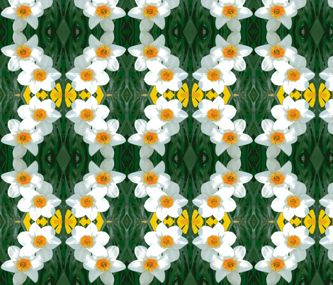 Light Daffodils D-11 fabric by khowardquilts on Spoonflower - custom fabric