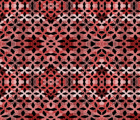 candycane lace fabric by jellybeanquilter on Spoonflower - custom fabric