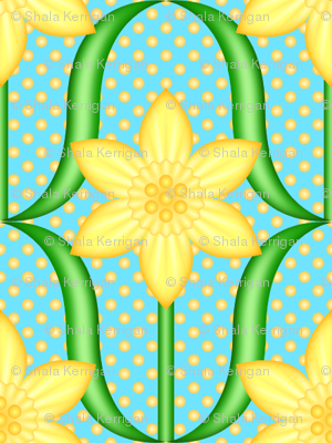 Dotted Daffodils