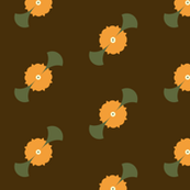 retro blooms