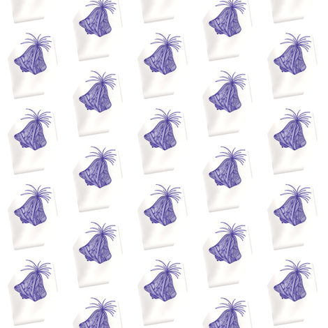 JamJax Blue Bells fabric by jamjax on Spoonflower - custom fabric