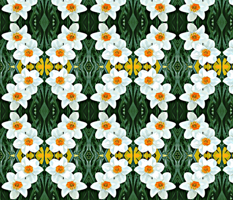 Dark Daffodils D-10 fabric by khowardquilts on Spoonflower - custom fabric